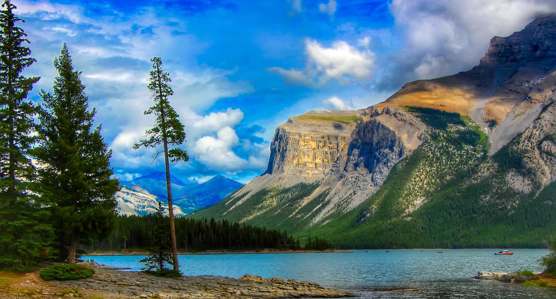 Banff-Nationalpark und die Rocky Mountains